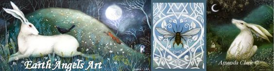 amanda clark artist | Earth Angels Art. Art and Illustrations by Amanda Clark