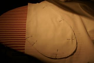 inseam pocket and invisible zipper