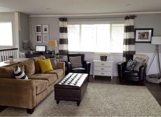 Pinterest the world s catalog of ideas for Split level living room ideas