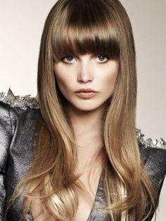 fringe dark blonde-brown