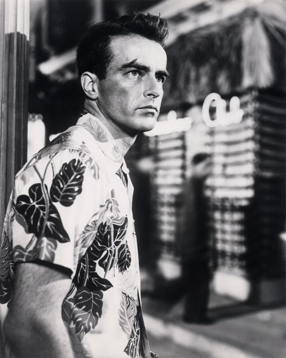 """Montgomery Clift in """"From Here To Eternity"""" (Fred Zinnemann, 1953)"""