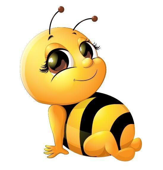 Cute Baby Bumble Bee Bee Drawing Bee Pictures Bee Art