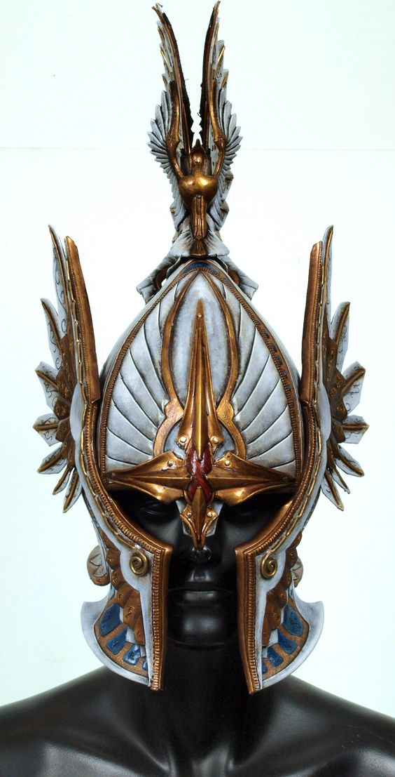 High Elf Helmet by Valimaa.deviantart.com:
