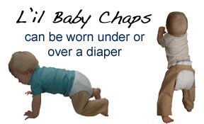 L'il Baby Chaps were created when my mom sewed some pants for my baby and other moms wanted some!