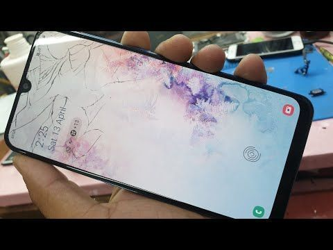 Samsung A50 Broken Glass Replacement Without Mobile Open In 2020 Samsung Glass Replacement Broken Glass