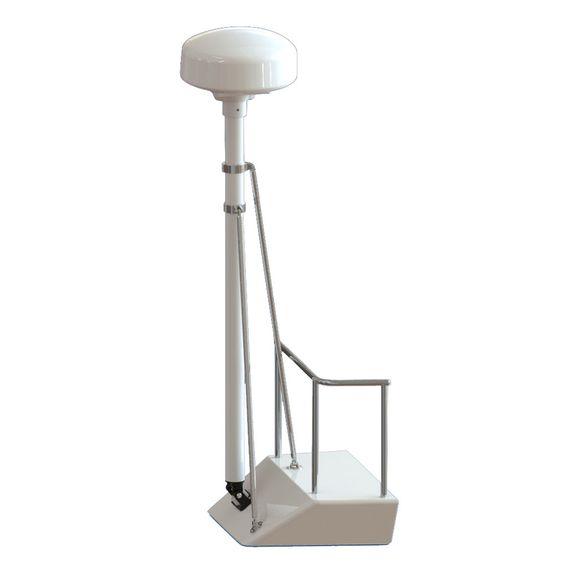 Seaview 8' Radar Mast Pole Kit w/2 Strut Kits