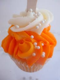 orange cupcakes - Google Search