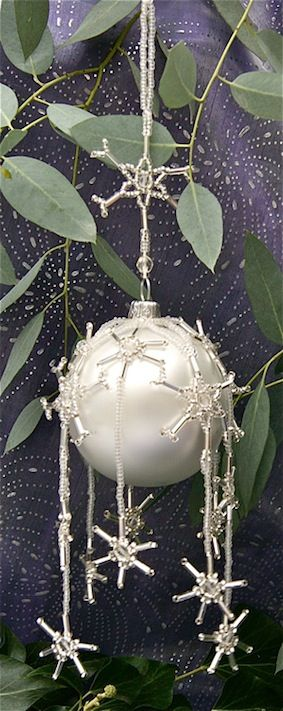 Gorgeous beadwork from Spellbound Beads - I always love their baubles, and have made several in the past.