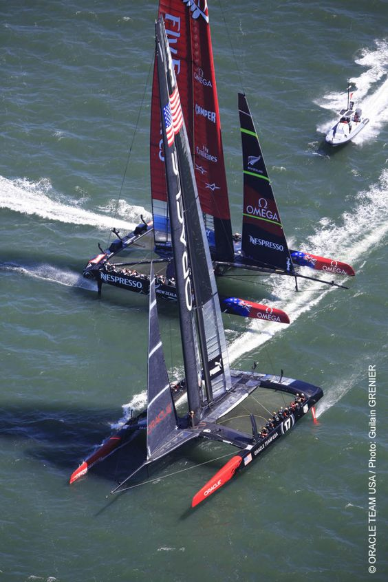 America's Cup - Oracle Team USA...second race today in San Francisco...
