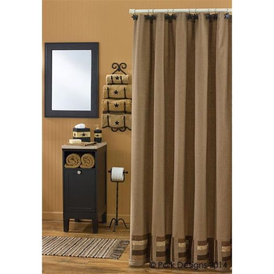 Shades of Brown Shower Curtain | Pinterest | Shower curtains ...