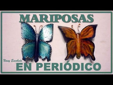 Youtube make paper and how to make on pinterest - Como hacer mariposas de papel ...