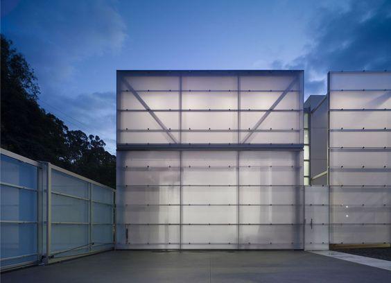 Lehrer Architects   Creatives/Canyon Residence   Garage