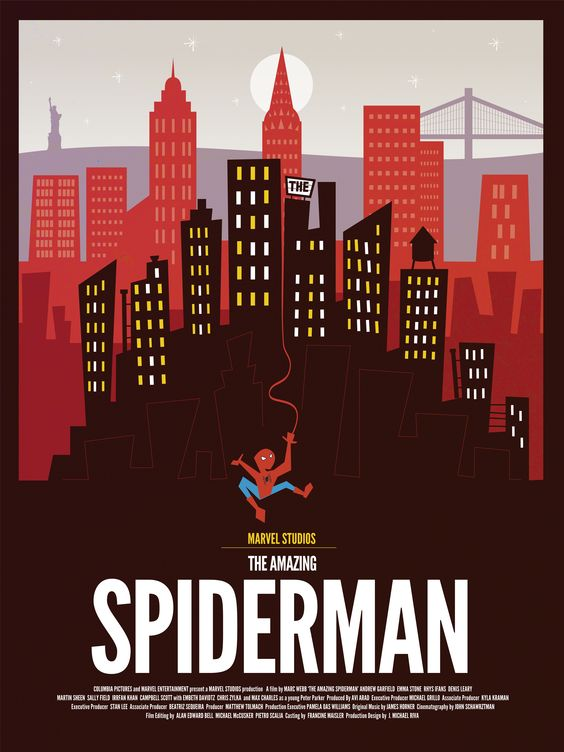 Dave Williams - The Amazing Spiderman Poster