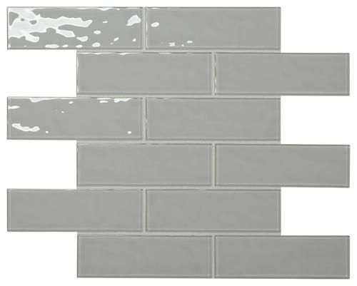 Kitchen Mohawk Glass Essentials 12 X 15 Glass Mosaic Tile At