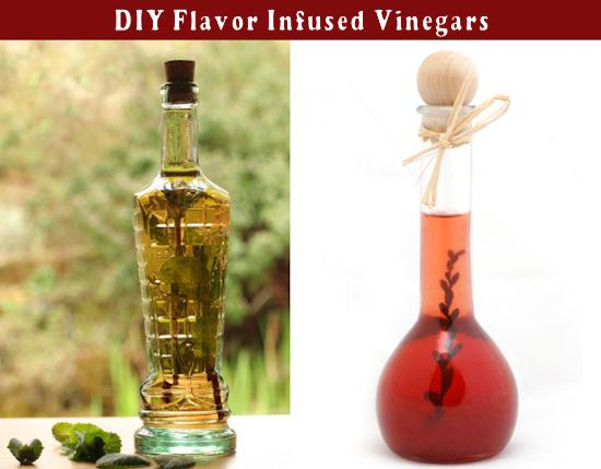 Easy To Make INFUSED VINEGARS