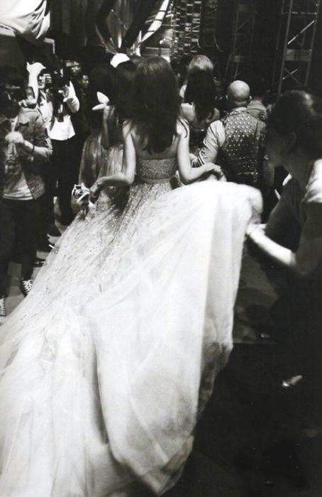 glam: Wedding Idea, Black And White, Fashion Week, The Dress, Black White, Wedding Dress, Fashion Inspiration, Ballgown