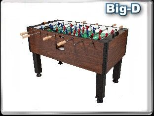 Dynamo Big-D foosball table. Available for order at Maine Home Recreation