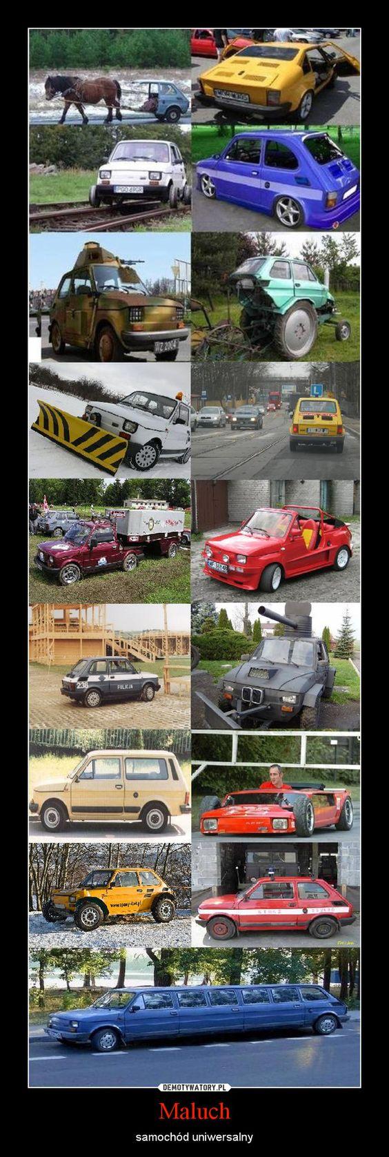 Maluch – samochód uniwersalny.