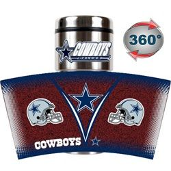 Dallas Cowboys Travel Coffee Tumbler