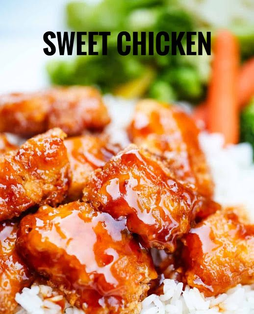 Good Food Good Health Sweet Chicken Recipe At Home Chicken Recipes At Home Sweet N Sour Chicken Chicken Recipes