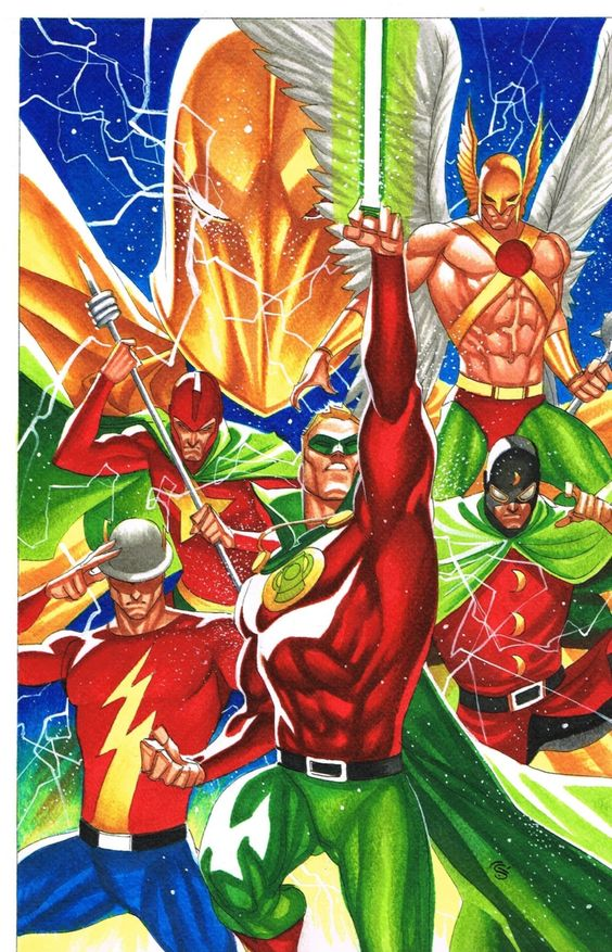 Justice Society of America by Thony Silas
