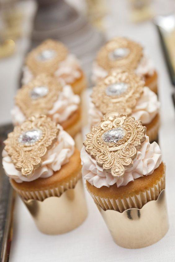 La elegancia también estará presente en los dulces bocados: