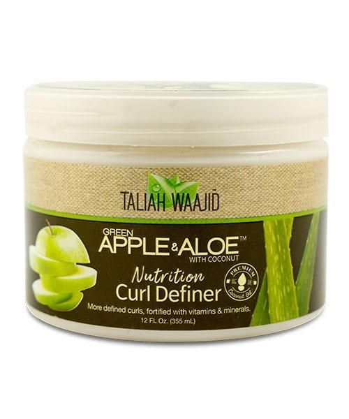 Taliah Waajid Green Apple Aloe Nutrition Curl Definer Hair Nutrition Soften Hair Natural Hair Styles