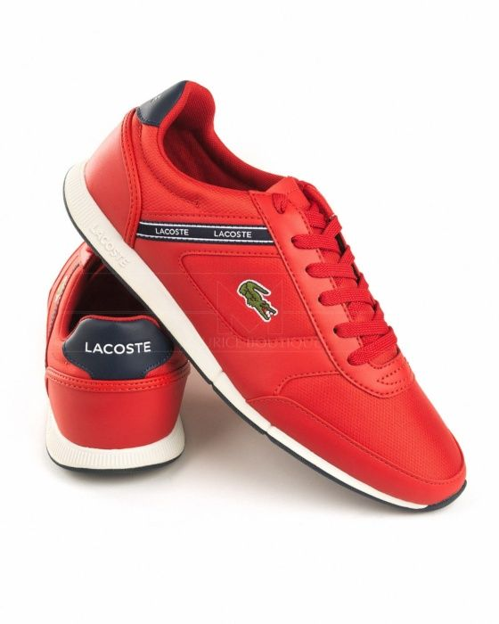 Lacoste Shoes Menerva Sport Red Zapatillas Lacoste Zapatos Hombre Deportivos Zapatos Hombre