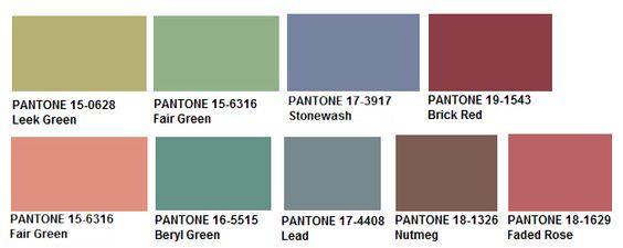Pantone Sublties Palette