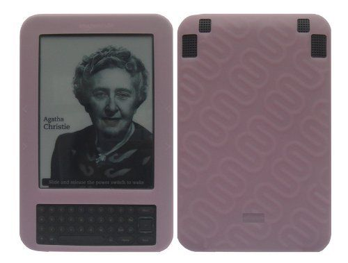 "iShoppingdeals - Pink Soft Silicone Skin Case Cover for Amazon Kindle 3 WiFi+3G Reader 6"" Display by iShoppingdeals. $2.99. (Non OEM) Soft Silicone Case"