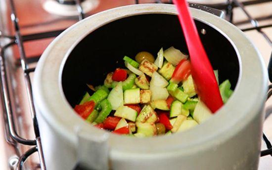 Legumes Na Panela De Pressao Em 3 Minutos Receita Almoco