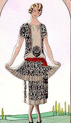1920s Fashion  Gazette du Bon Ton, 1924