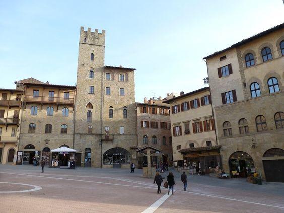 Arezzo is the iconic setting for the film (La vita è bella) Life is Beautiful.