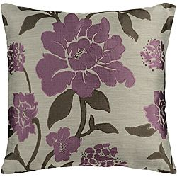 @Overstock - Fresh and lovely, this stunning floral jacquard pillow is the perfect feminine accent for your living room or bedroom. Crafted with a zipper-close cover, the pillow is stuffed with ultra-soft filling, creating a comfortable surface for lounging.http://www.overstock.com/Home-Garden/Jacquard-22x22-inch-Floral-Down-Pillow/6412849/product.html?CID=214117 $37.99