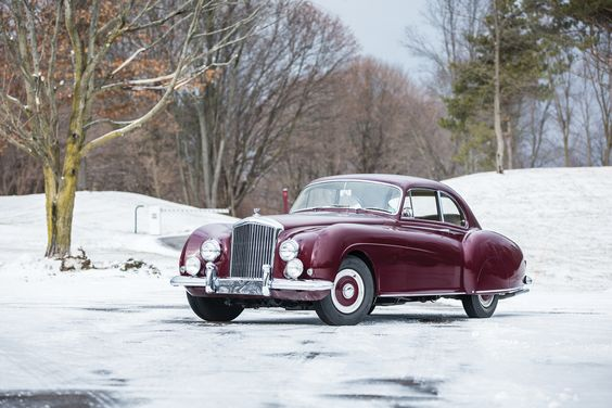 1953–55 Bentley R-Type Continental Sports Saloon (LHD)