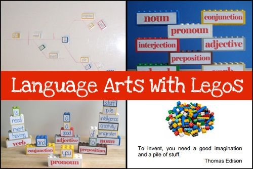 Teaching Language Arts With Legos: Part 2