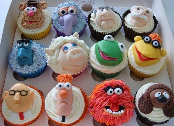 Muppet show cupcakes, great! via http://newsmix.me