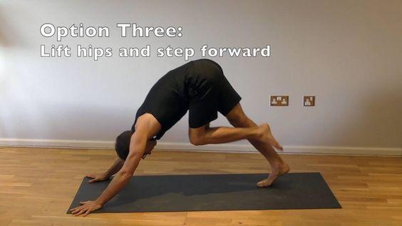 #Yoga for Beginners - Stepping Forward