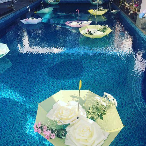 Idee per decorazioni piscina! 9