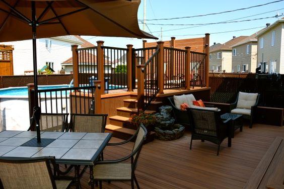 patio plus patio de piscine projet ext rieur. Black Bedroom Furniture Sets. Home Design Ideas
