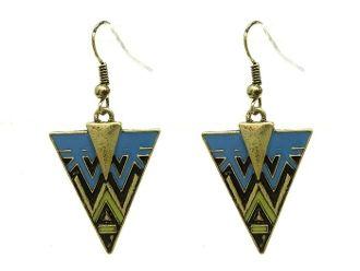 Aztec Arrow Design Earrings