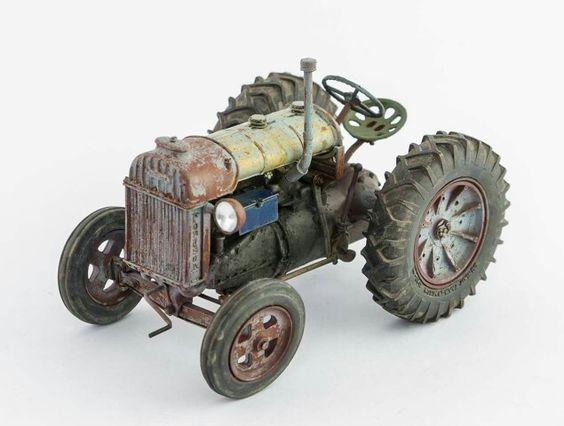 Tractor model by Roman Volchenkov