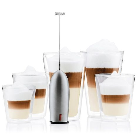 Colin Cowie Selects Bodum Milk Frother Stainless Steel