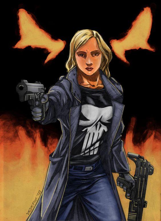 Lady Punisher by ~Dedefox on deviantART