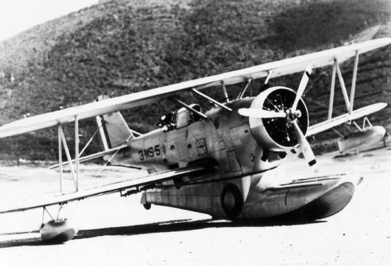 """St. Thomas, 1940 Marine Scouting Squadron (VMS-3)  based at Bourne Field. The Grumman Duck seaplane was used in 1939-1941. The """"Duck"""" was 1 of those military workhorses moving around in the background before & during WWII  It did a tremendous job, but never got the publicity of its more glamorous teammates. Some said the Duck could be more aptly named the """"Ugly Duckling"""". Be that as it may; when no other bomber could be found, it carried bombs; when no other transport could be found, it…"""