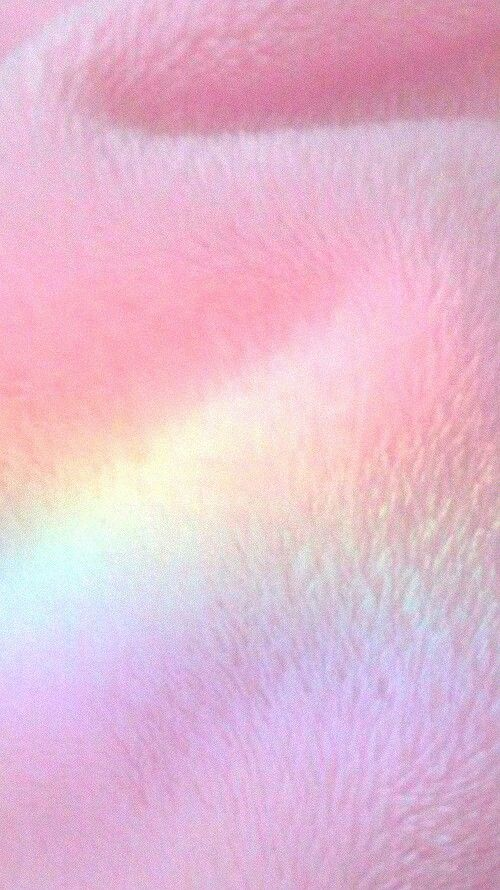 Pink Fur with Rainbow shadow
