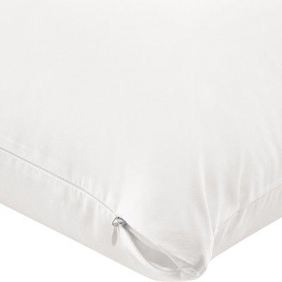 Aller Ease Pillow Cover 2 Pack Standard Queen Zipper Bedding Pillow Protectors Bed Bugs