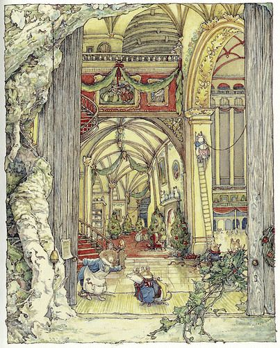 Brambly Hedge, Winter Story, by Jill Barklem