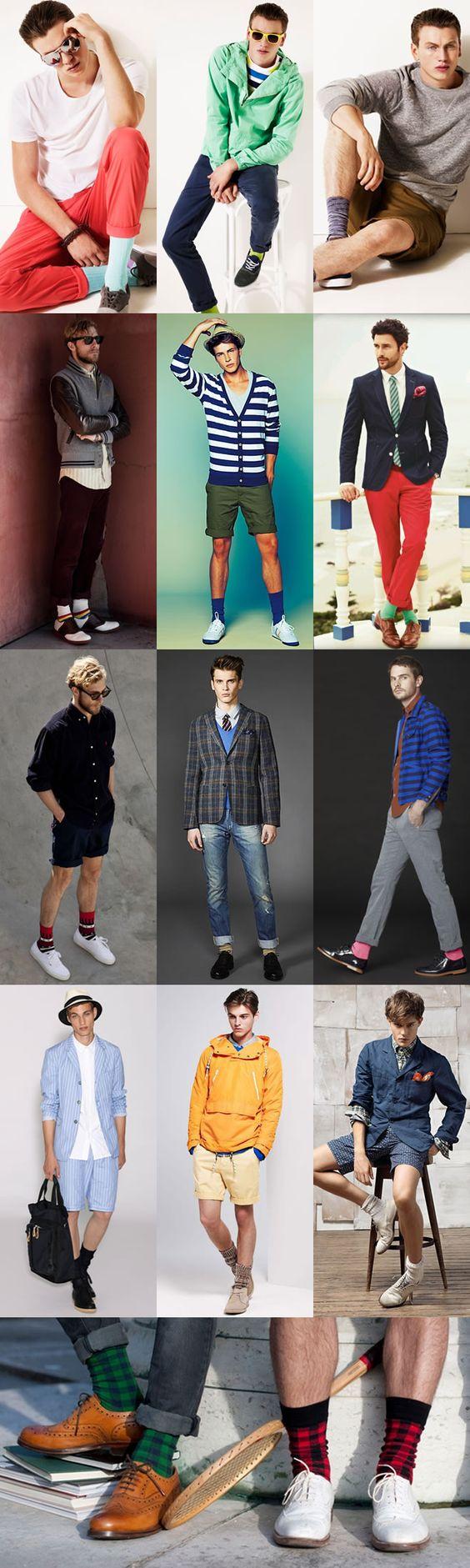 Men's Style: Socks In The Summer