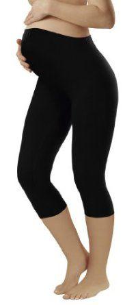 Umstandskleidung / Damen 3/4 Leggins – Baumwolle + Elasthan – verschiedene Farben Top-Angebote für « Umstandskleidung